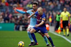 El Barça no pasa del empate con el Celta, aunque aguanta en el liderato