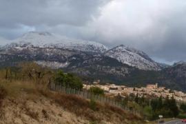 La Serra de Tramuntana, nevada