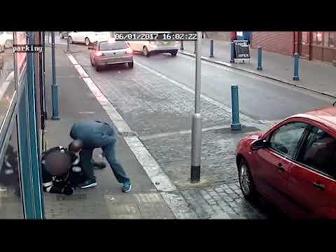 Un conductor le rompe el hombro a un guardia de tráfico al descubrir que le estaba poniendo una multa