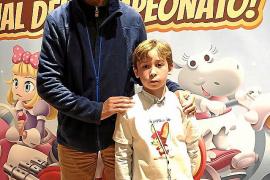 Adrián Melchor, tercero en el campeonato de cálculo mental infantil de España
