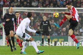 Athletic y Real Madrid empatan sin goles en San Mamés