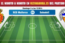 Real Mallorca-Sabadell, en directo