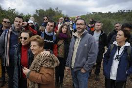 Marcha contra las torres eléctricas del barrio de Son Puig