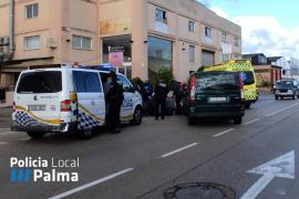 En estado grave un motorista tras colisionar con un turismo en Son Castelló