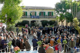 El frío permite 'curritxar' a las perdices en Montuïri