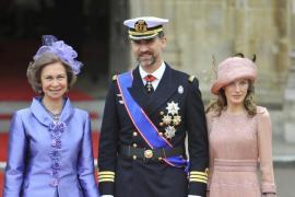 La Reina y los príncipes