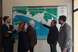 Barceló firma convenios para renovar la Playa de Palma con inversiones de unos siete millones