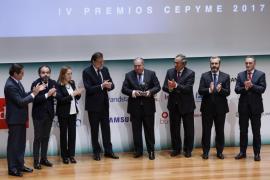 Rajoy pide a las pymes que creen empleo estable y de calidad