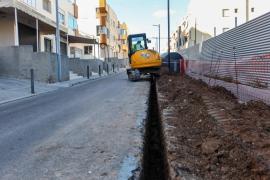 Problemas de aparcamiento en Puig des Molins por las múltiples obras en marcha