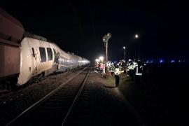 Decenas de heridos en un accidente de tren en Alemania