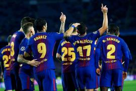 El Barcelona cierra la fase grupos con una victoria ante el Sporting de Portugal
