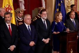 Rajoy, abierto a reformar la Constitución cuando haya «una idea clara» y no para «contentar» a los separatistas