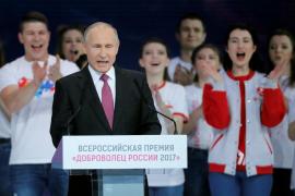 Putin optará a la reelección en las presidenciales de Rusia el año próximo