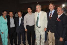 Autoridades en Cancún