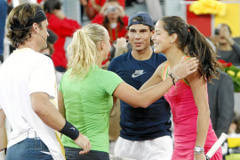 Nadal llega «muy satisfecho» y sin temer a Djokovic