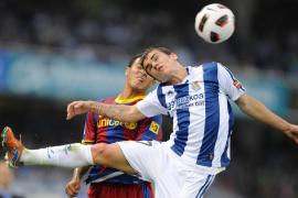 Hazaña de la Real ante un Barcelona que se queda sin récord de victorias