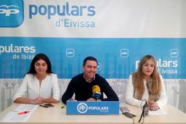 El PP denuncia que los presupuestos del Govern balear no responden a las necesidades reales de Ibiza