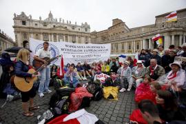 Masiva vigilia de beatificación