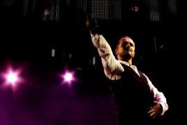 Miguel Bosé y Mariah  Carey: felicidad infantil doble