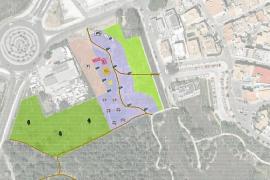UMP proyecta una gran área recreativa y 70 aparcamientos junto a la Gola