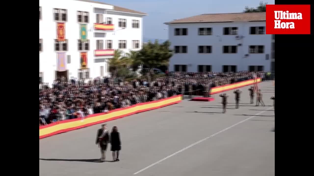 La Infantería celebra en el Acuartelamiento Jaime II de Palma el 125 aniversario de su patrona