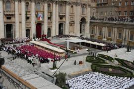 Juan Pablo II es beatificado  ante un millón de peregrinos