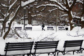 Nieve en Washington