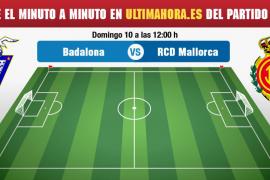 Badalona-Real Mallorca, en directo