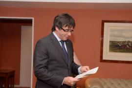 Carles Puigdemont niega que exista una tercera vía y alerta que «el Estado no quiere ser reformado»