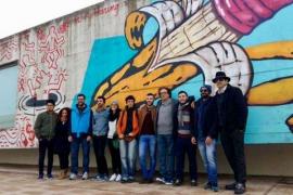 El grafiti de Soma que fomenta el uso del preservativo