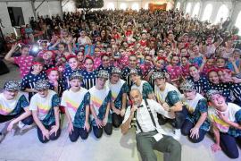 Aspanob celebra con gran éxito la IX edición del Festival de canto y baile