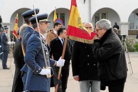 Multitudinaria jura de bandera en Mallorca