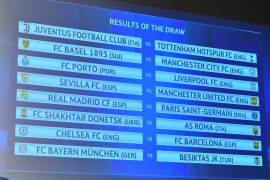 PSG y Chelsea serán los rivales de Real Madrid y FC Barcelona en los octavos de la Champions