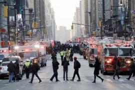 Al menos cuatro heridos por una explosión en Nueva York