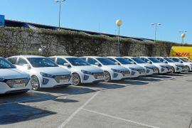 Hyundai entrega una flota de 48 Io niq híbridos a DHL