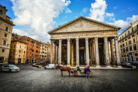 La entrada al Panteón de Roma ya no será gratuita