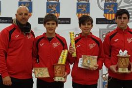 Cuatro oros y un bronce para el Club Badminton Cide en el Máster Nacional