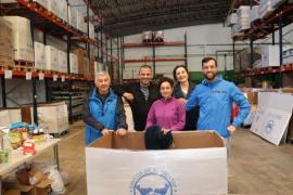 El Banco de Alimentos ya ha repartido 500 quilos de alimentos para esta Navidad