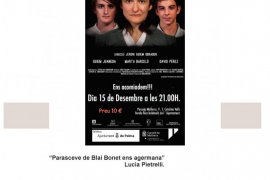 El Teatre Municipal Catalina Valls acoge un ciclo dedicado a Blai Bonet