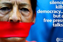 La Asociación Mundial de Periódicos avisa sobre la falta de libertad de expresión