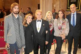 Ingreso de Lluís Masmiquel como nuevo miembro de la Reial Acadèmia de Medicina de Balears