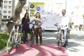 PSM-Iniciativa Verds-Entesa propone extender  la red de carril bici a todos los barrios de Palma