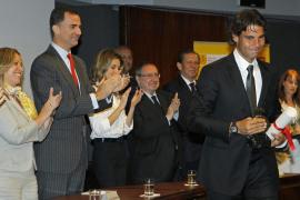 Nadal y la Roja, nuevos embajadores honorarios de España