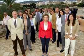 Calvo presenta su candidatura basada en que Palma sea «una ciudad con más oportunidades»