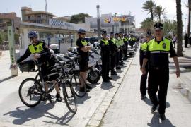 Cort destina 155 agentes a vigilar la Platja de Palma