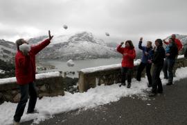 Hoy podría nevar a nivel del mar en Baleares