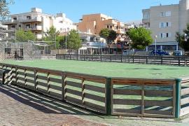 Cala Millor mejora sus zonas de recreo infantiles y las pistas polideportivas