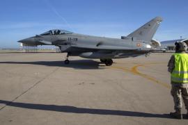 Un 'top gun' español en la base de adiestramiento de Eurofighter en Italia