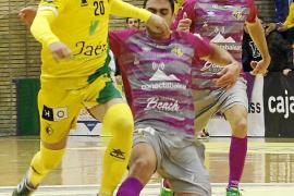 Carlitos castiga al Palma Futsal