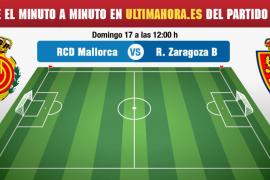 Real Mallorca-Deportivo Aragón, en directo